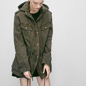 Aritzia | Talula Army Green Trooper Jacket | XS